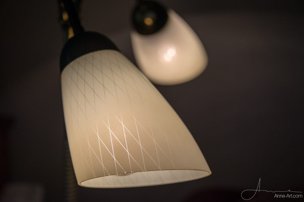 Glasschirme für Tütenlampe