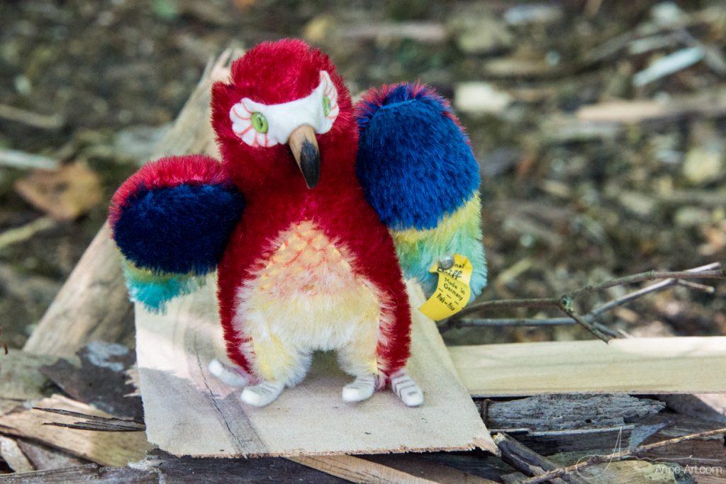 Steiff Papagei