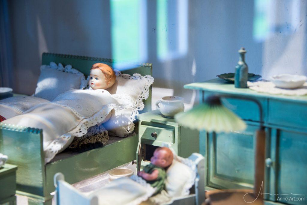 Szene im Puppenmuseum