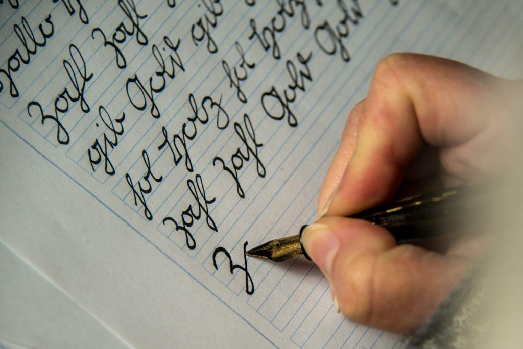 Sütterlin schreiben